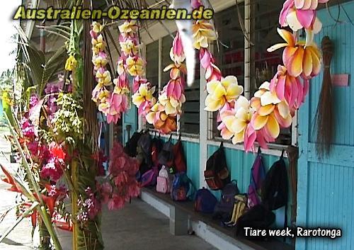 Te Mire Tiare - Flower Week - Cook Islands