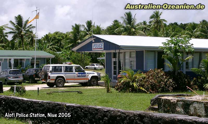Alofi Niue  City new picture : Niue Island Alofi police station