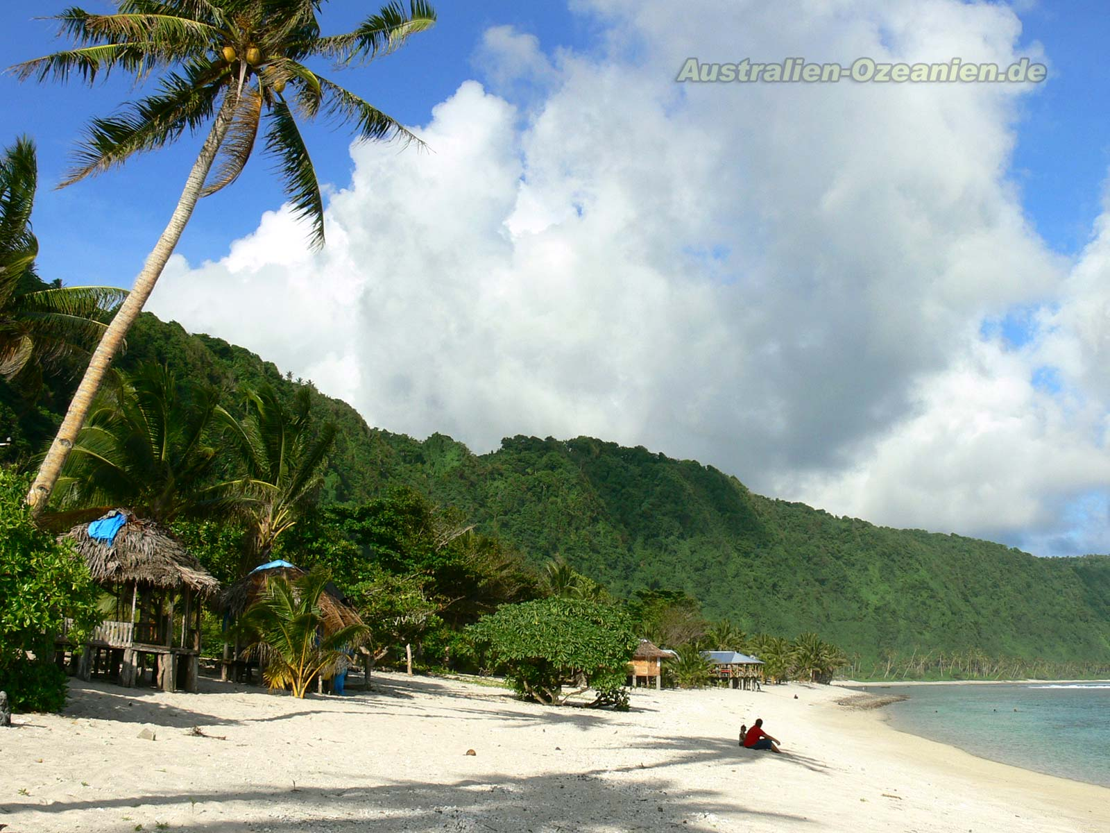 "Wallpaper ""Polynesian Beach"" - Hintergrundbilder ..."